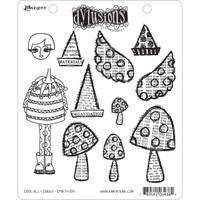 Dyan Reaveley's Dylusions Cling Stamp Collections - Doolally Dorris