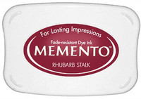 Memento Full Size Ink Pad - Rhubarb Stalk