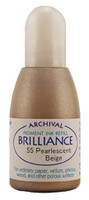 Brilliance Re-Inker - Pearlescent Beige