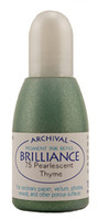 Brilliance Re-Inker - Pearlescent Thyme