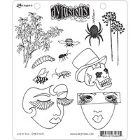 Dyan Reaveley's Dylusions Cling Stamp Collections - Bits Of This