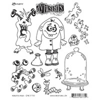 Dyan Reaveley's Dylusions Cling Stamp Collections - Monster Mash