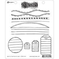 Dyan Reaveley's Dylusions Cling Stamp Collections - Write Between The Lines