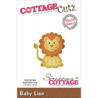 CottageCutz Die - Baby Lion
