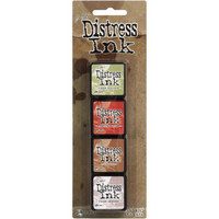 Tim Holtz Mini Distress Ink by Ranger - Kit #12