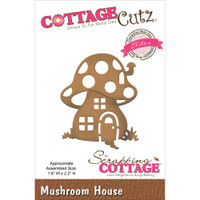 CottageCutz Elites Die - Mushroom House