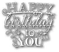 Memory Box Die - Happy Birthday All Star