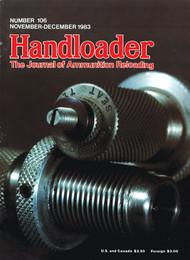 Handloader 106 November 1983