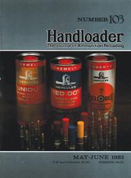Handloader 103 May 1983