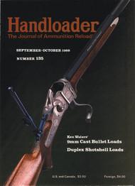 Handloader 135 September 1988