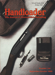 Handloader 141 September 1989