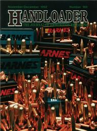 Handloader 160 November 1992