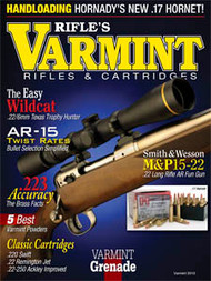 2013 Varmint Rifles & Cartridges