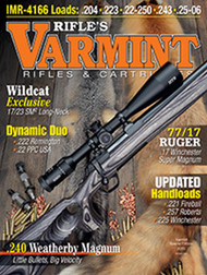 2016 Varmint Rifles & Cartridges