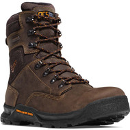 "Danner Men's Crafter 8"" Brown Work Boot Style No. 12437"