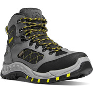 "Danner Men's TrailTrek 4.5"" Gray/Yellow Outdoor Boot Style No. 61362"