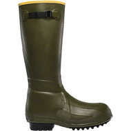 "LaCrosse Men's Burly® Air Grip 18"" OD Green Utility Boot."
