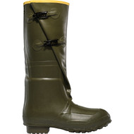 "LaCrosse Men's Insulated 2-Buckle 18"" OD Green Utility Boot"