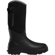 "LaCrosse Men's Alpha Range 14"" Black 5.0MM NMT Utility Boot"
