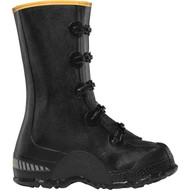 "LaCrosse Men's ZXT Buckle Deep Heel Overshoe 14"" Black Industrial Boot"