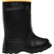 "LaCrosse Men's Utah Brogue Overshoe 14"" Black Industrial Boot"