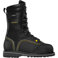 "LaCrosse Men's Longwall II 10"" Black 200G MET/NMT CSA Industrial Boot"