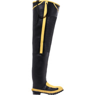 "LaCrosse Men's 32"" Met Hip Boot Black MET/SM/ST Industrial Boot"