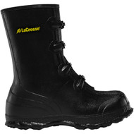 "LaCrosse Men's Z Series Overshoe 11"" Black Industrial Boot"