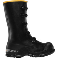 "LaCrosse Men's ZXT Buckle Wedge Overshoe 14"" Black Industrial Boot"