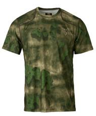 Hell's Canyon Speed Plexus Mesh Shirt Short Sleeve in ATACS Foliage/Green