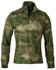 Hell's Canyon Speed Phase 1/4 Zip Top in Foliage/Green