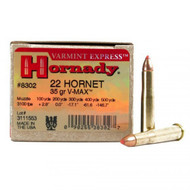 Hornady Varmint Express  - 22 Hornet, 35 Grain, V-MAX™