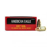 American Eagle  - .357 Sig, FMJ, 125 Grain