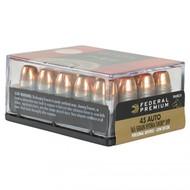 Federal Premium® Personal Defense® (LR) .45 Auto - Hydra-Shok® JHP, 165 Grain