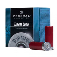 Federal Top Gun® Target Shotshells - 12 Gauge, 2 Inch - 1 1/8 Ounce - #7.5 Shot