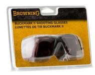 Buckmark II Shooting Glasses - Vermillion