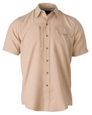 Phenix Shooting Shirt, Short Sleeve-Khaki