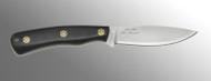 DiamondBlade Knives The Summit: Linen Black Micarta-Mosaic Pins