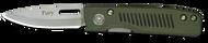DiamondBlade Knives Fury Liner Lock - G10 OD/Black