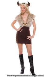 VIKING VIXEN sexy womens adult  halloween costume M L