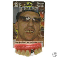 GOLD RAPPER TOOTH novelty teeth pimp bling tooth halloween costume rap star