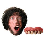 Caveman cave man mens Billy Bob TEETH adult  funny halloween costume