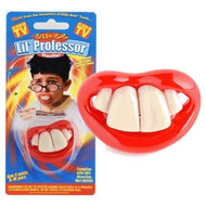 BABY PROFESSOR PACIFIER infant newborn shower gift two front teeth boys girls
