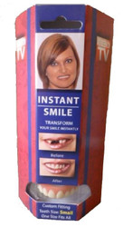 DELUXE SMALL INSTANT SMILE upper veneer secure cosmetic false teeth dental