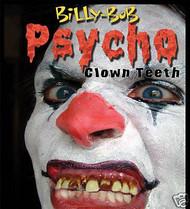Psycho evil clown Billy Bob TEETH adult  funny costume