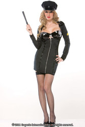 POLICE OFFICER corrections sexy womens costume M/L