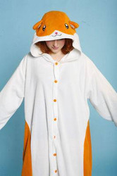 Hamster Adult Pajamas - One Size