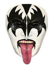 KISS Demon Half Mask