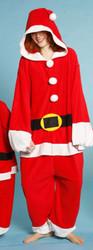 Santa Jumpsuit Adult Pajamas