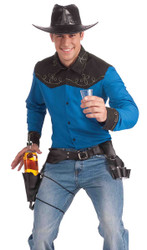 Drink Holster and 3 Shot Glasses costume Accessory